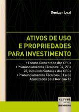 Capa do livro: Ativos de Uso e Propriedades para Investimento, Denizar Leal