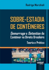 Capa do livro: Sobre-Estadia de Contêineres, Rodrigo Marchioli