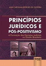 Capa do livro: Princípios Jurídicos e Pós-Positivismo, Ana Carolina Borges de Oliveira