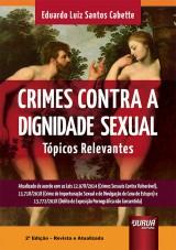 Capa do livro: Crimes Contra a Dignidade Sexual, Eduardo Luiz Santos Cabette