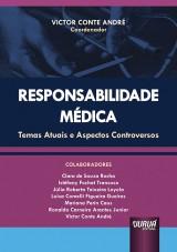 Capa do livro: Responsabilidade Médica, Coordenador: Victor Conte André