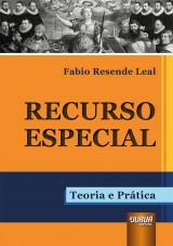 Capa do livro: Recurso Especial, Fabio Resende Leal