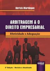 Capa do livro: Arbitragem & o Direito Empresarial, Herick Mardegan