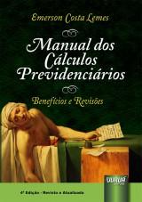 Capa do livro: Manual dos Cálculos Previdenciários, Emerson Costa Lemes