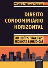 Capa do livro: Direito Condominiário Horizontal, Wladimir Novaes Martinez