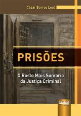 Capa do livro: Prisões, César Barros Leal