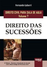 Capa do livro: Direito Civil para Sala de Aula - Volume 7, Fernando Gaburri