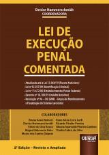 Capa do livro: Lei de Execução Penal Comentada, Coordenadora: Denise Hammerschmidt