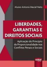 Capa do livro: Liberdades, Garantias e Direitos Sociais, Aluisio Antonio Maciel Neto