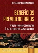 Capa do livro: Benefícios Previdenciários, Luiz Gustavo Boiam Pancotti