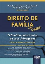 Capa do livro: Direito de Família em Cases, Coordenadoras: Maria Fernanda Figueira Rossi Ticianelli e Priscilla Cristiane Barbiero