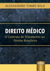 Capa do livro: Direito Médico, Alessandro Timbó Nilo