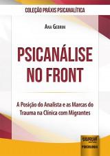 Capa do livro: Psicanálise no Front, Ana Gebrim