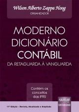 Capa do livro: Moderno Dicionário Contábil da Retaguarda à Vanguarda, Organizador: Wilson Alberto Zappa Hoog
