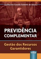 Capa do livro: Previdência Complementar, Guilherme Casado Gobetti de Souza