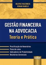 Capa do livro: Gestão Financeira na Advocacia, Beatriz Machnick e Renan Rabelo