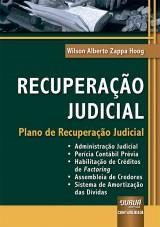 Capa do livro: Recuperação Judicial, Wilson Alberto Zappa Hoog