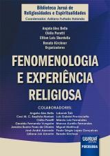 Capa do livro: Fenomenologia e Experiência Religiosa, Organizadores: Angela Ales Bello, Clélia Peretti, Ellton Luis Sbardella e Renato Kirchner