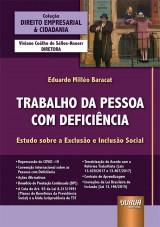 Capa do livro: Trabalho da Pessoa com Deficiência, Eduardo Milléo Baracat