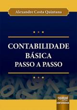 Capa do livro: Contabilidade Básica Passo a Passo, Alexandre Costa Quintana