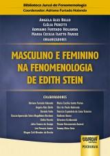 Capa do livro: Masculino e Feminino na Fenomenologia de Edith Stein, Organizadores: Angela Ales Bello, Clélia Peretti, Adriano Furtado Holanda e Maria Cecilia Isatto Parise