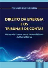 Capa do livro: Direito da Energia e os Tribunais de Contas, Fernando Simões dos Reis
