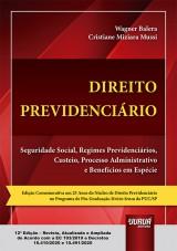 Capa do livro: Direito Previdenciário, Wagner Balera e Cristiane Miziara Mussi