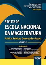 Capa do livro: Revista da Escola Nacional da Magistratura - Número 07 - Políticas Públicas, Democracia e Justiça,