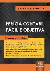 Capa do livro: Perícia Contábil Fácil e Objetiva, Fernando Ferreira Dias Filho