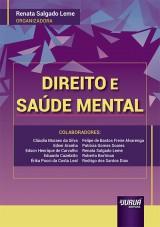 Capa do livro: Direito e Saúde Mental, Organizadora: Renata Salgado Leme