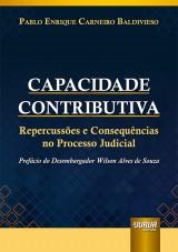 Capa do livro: Capacidade Contributiva, Pablo Enrique Carneiro Baldivieso