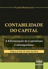 Capa do livro: Contabilidade do Capital, Valério Nepomuceno