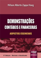 Capa do livro: Demonstrações Contábeis e Financeiras, Wilson Alberto Zappa Hoog