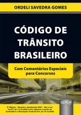 Capa do livro: Código de Trânsito Brasileiro, Ordeli Savedra Gomes