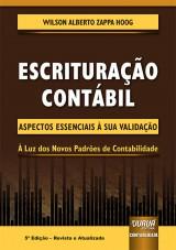 Capa do livro: Escrituração Contábil, 5ª Edição - Revista e Atualizada, Wilson Alberto Zappa Hoog