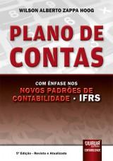 Capa do livro: Plano de Contas, 5ª Edição - Revista e Atualizada, Wilson Alberto Zappa Hoog