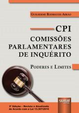 Capa do livro: CPI - Comissões Parlamentares de Inquérito, Guilherme Rodrigues Abrão