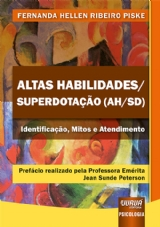 Capa do livro: Altas Habilidades/Superdotação (AH/SD), Fernanda Hellen Ribeiro Piske