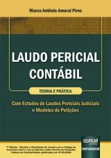 Capa do livro: Laudo Pericial Contábil - Teoria e Prática, Marco Antônio Amaral Pires