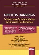 Capa do livro: Direitos Humanos, Organizadoras: Clinaura Maria de Lima e Ana Cecília Pereira Melo