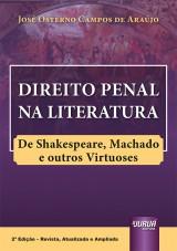 Capa do livro: Direito Penal na Literatura, José Osterno Campos de Araújo