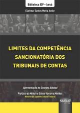 Capa do livro: Limites da Competência Sancionatória dos Tribunais de Contas, Clarimar Santos Motta Junior