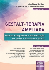 Capa do livro: Gestalt-Terapia Ampliada, Organizadoras: Aline Ataide Del Raso e Bruna Improta de Oliveira Mendonça