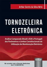 Capa do livro: Tornozeleira Eletrônica, Arthur Corrêa da Silva Neto