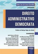 Capa do livro: Direito Administrativo Democrata, Coordenador: Fábio Lins de Lessa Carvalho