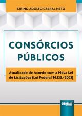 Capa do livro: Consórcios Públicos, Cirino Adolfo Cabral Neto