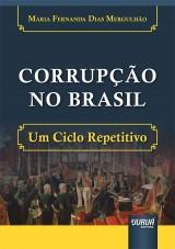 Capa do livro: Corrupção no Brasil, Maria Fernanda Dias Mergulhão