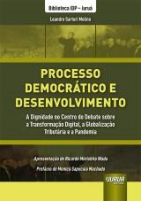 Capa do livro: Processo Democrático e Desenvolvimento, Leandro Sartori Molino