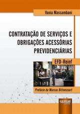 Capa do livro: Contratação de Serviços e Obrigações Acessórias Previdenciárias, Vania Massambani