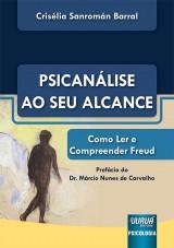 Capa do livro: Psicanálise ao Seu Alcance, Crisélia Sanromán Barral